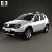 Renault Duster 2012 3d model