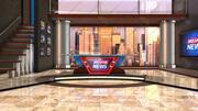 Breaking News Studio 3d model