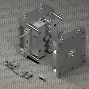 Enjeksiyon kalıbı 3d model