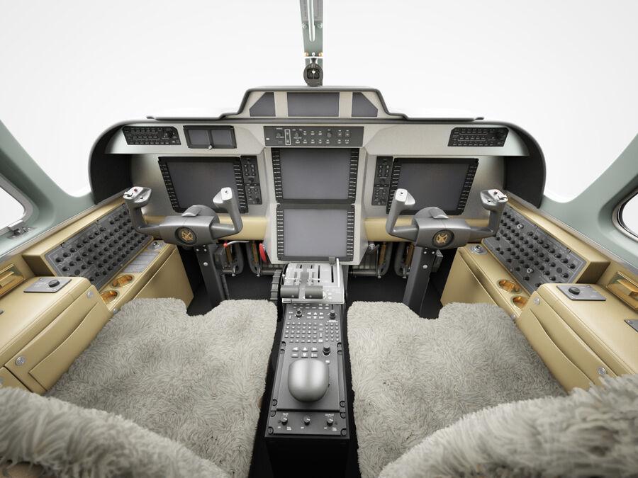 Cockpit d'avion royalty-free 3d model - Preview no. 1