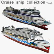 Коллекция круизных лайнеров, том 5 3d model