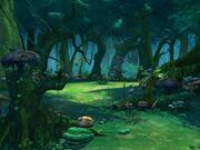 卡通森林场景01 3d model
