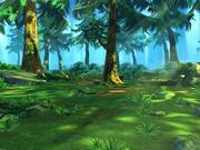卡通森林场景02 3d model