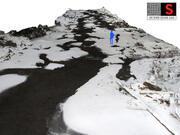 Zimowy strumień, rzeka 16K 3d model