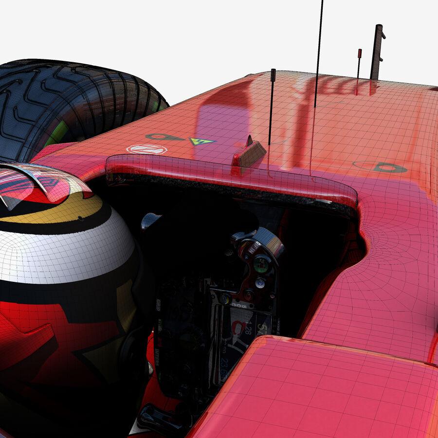 Formule 1 auto 2017 royalty-free 3d model - Preview no. 6