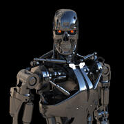 Terminator T-800 Endoskeleton 3d model