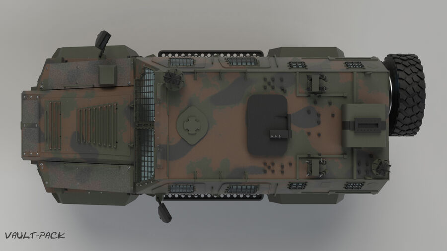 Эйдер Ялчин royalty-free 3d model - Preview no. 3