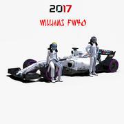Williams FW40 3d model