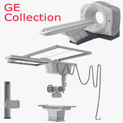 GE Discovery CT 750 HD and XR 656 Plus Collection 3d model