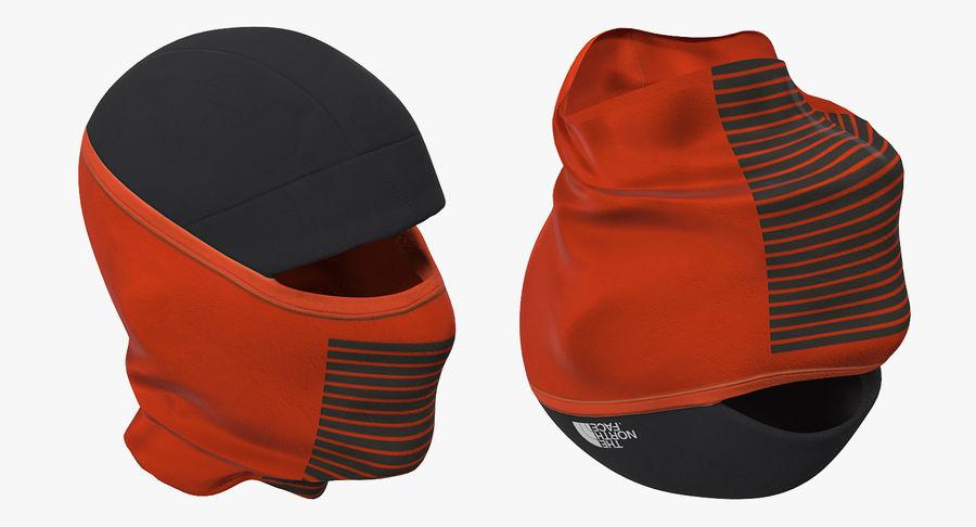 Balaclava Ski Face Mask royalty-free 3d model - Preview no. 6