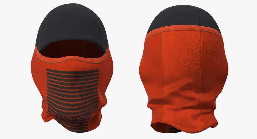 Balaclava Ski Face Mask royalty-free 3d model - Preview no. 4