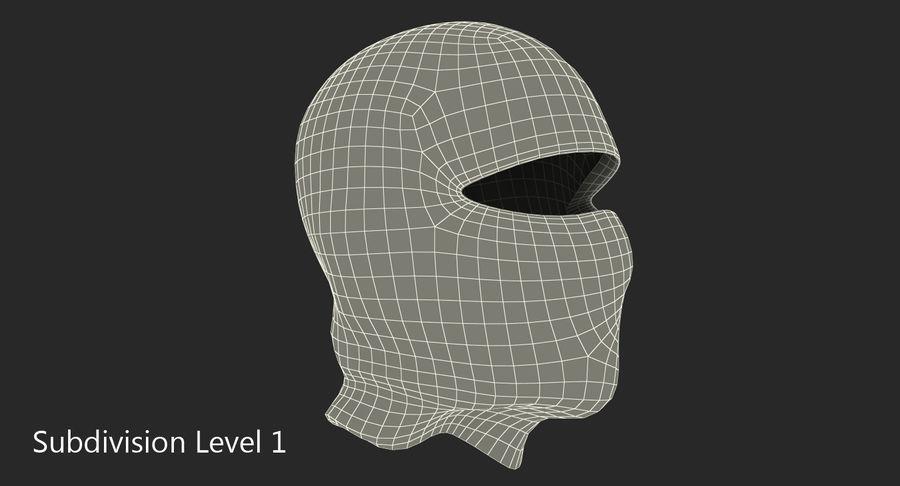 Balaclava Ski Face Mask royalty-free 3d model - Preview no. 8