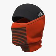 Máscara Facial de Esqui Balaclava 3d model