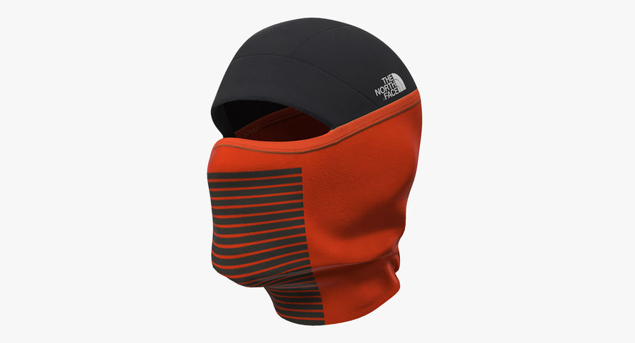 Balaclava Ski Face Mask royalty-free 3d model - Preview no. 2