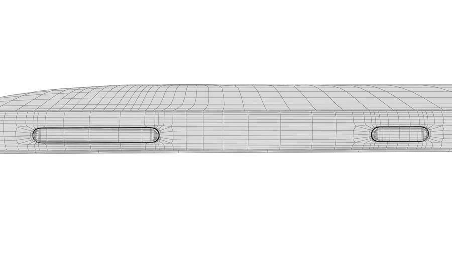 索尼Xperia XZ2液体黑色 royalty-free 3d model - Preview no. 21