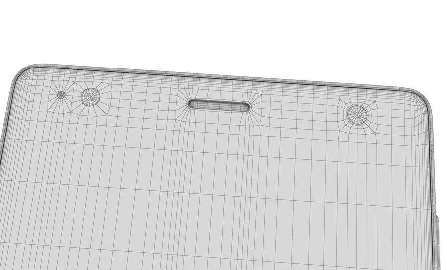 索尼Xperia XZ2液体黑色 royalty-free 3d model - Preview no. 18