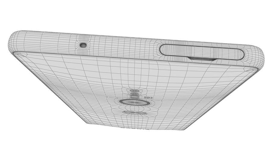 索尼Xperia XZ2液体黑色 royalty-free 3d model - Preview no. 14