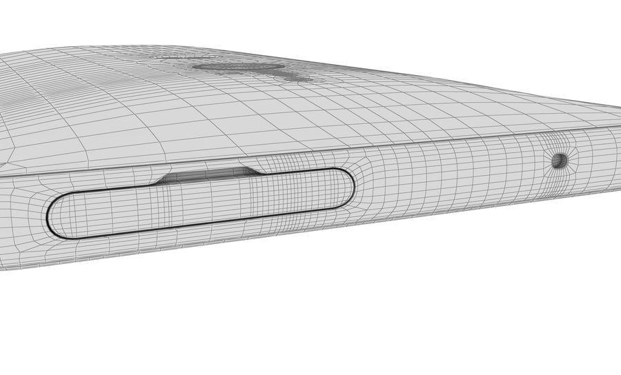 索尼Xperia XZ2液体黑色 royalty-free 3d model - Preview no. 19