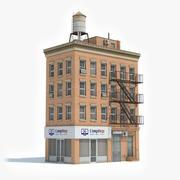 아파트 빌딩 44 3d model