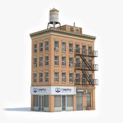 Apartment Building 44 3d model