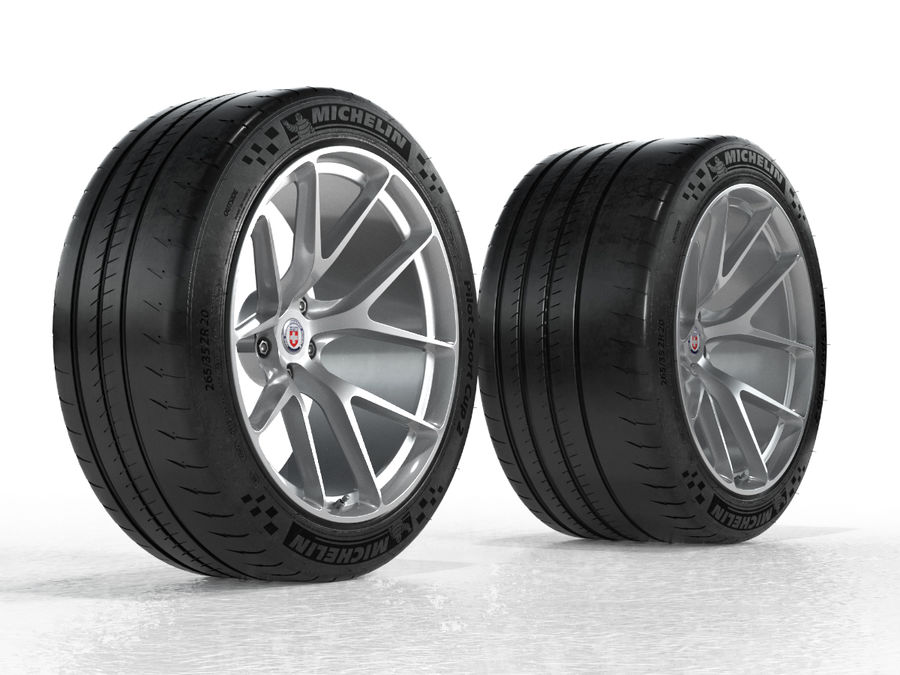 Michelin Pilot Sport Cup 2 royalty-free 3d model - Preview no. 17