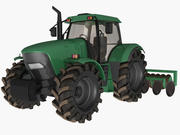 Tractor(1) 3d model
