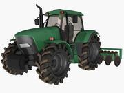Трактор (1) 3d model