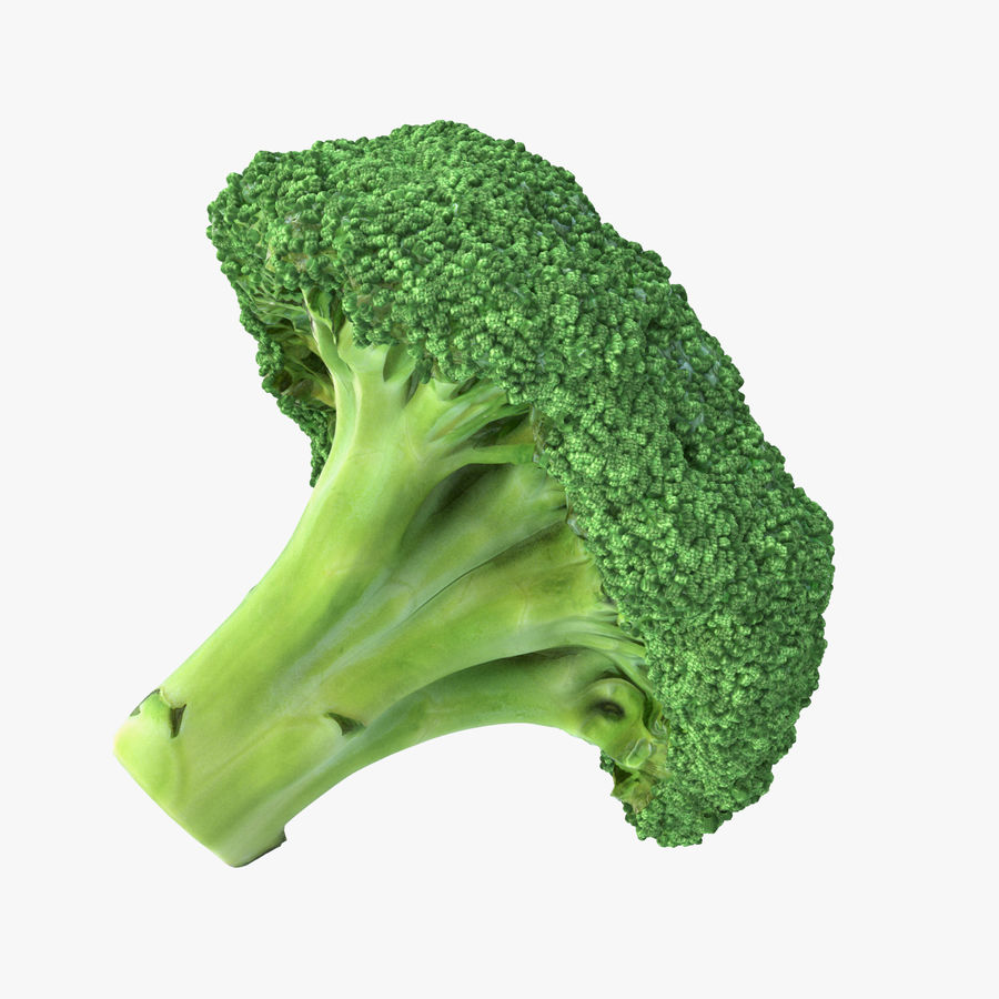 Broccoli High Poly PBR royalty-free 3d model - Preview no. 1
