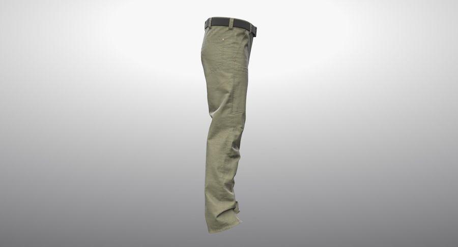 Cargo Pants (Khaki) V-ray + PBR royalty-free 3d model - Preview no. 13