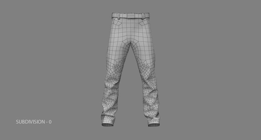 Cargo Pants (Khaki) V-ray + PBR royalty-free 3d model - Preview no. 23
