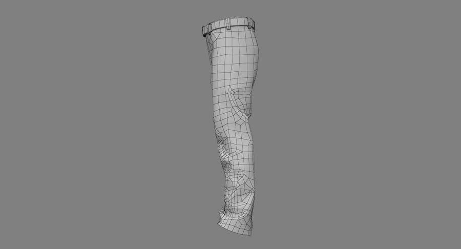 Cargo Pants (Khaki) V-ray + PBR royalty-free 3d model - Preview no. 33