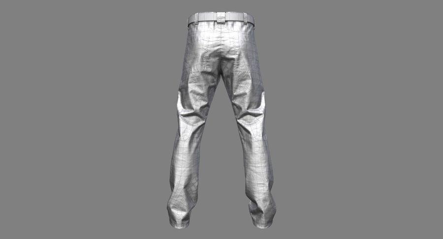 Cargo Pants (Khaki) V-ray + PBR royalty-free 3d model - Preview no. 30