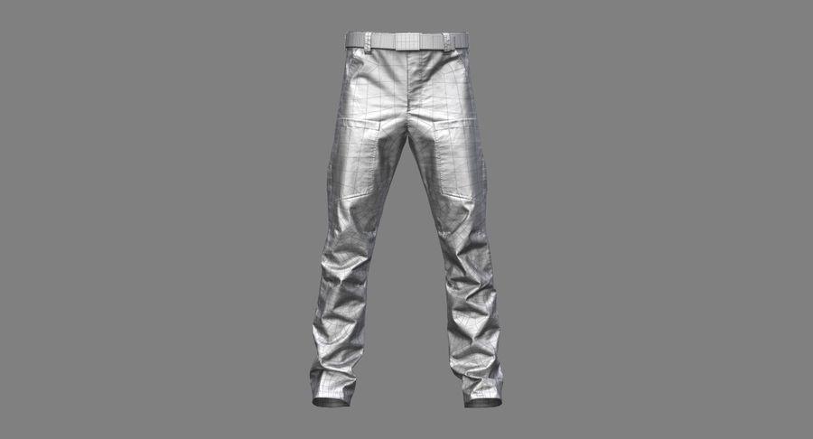 Cargo Pants (Khaki) V-ray + PBR royalty-free 3d model - Preview no. 29