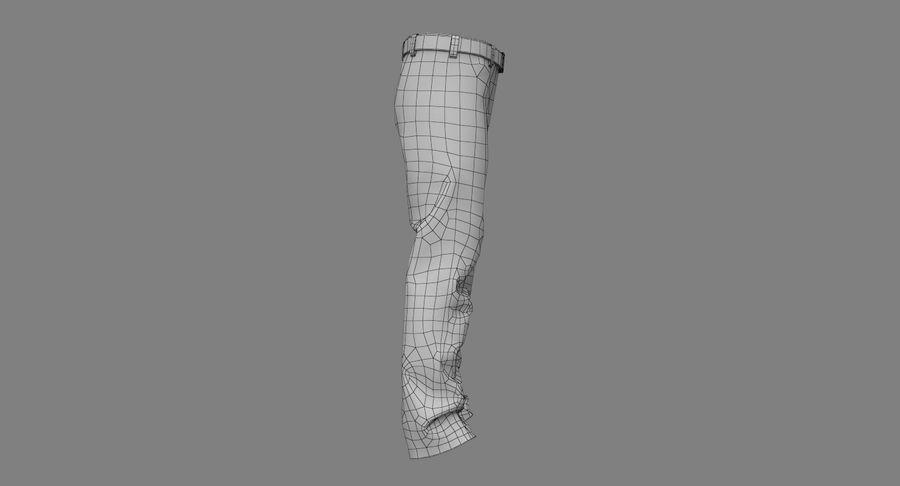 Cargo Pants (Khaki) V-ray + PBR royalty-free 3d model - Preview no. 35