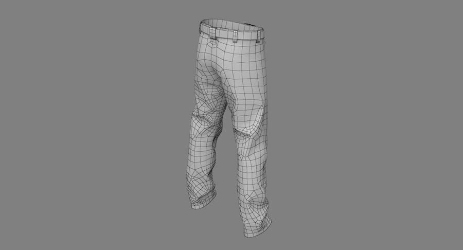 Cargo Pants (Khaki) V-ray + PBR royalty-free 3d model - Preview no. 32