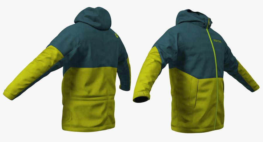 Vinter Sport Jacka royalty-free 3d model - Preview no. 3