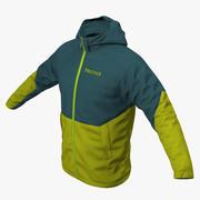 Зимняя спортивная куртка 3d model