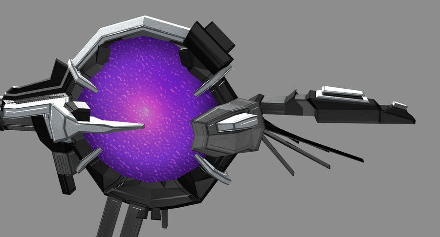 Space Stargate royalty-free 3d model - Preview no. 8