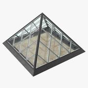 Small Glass Pyramid 3d model