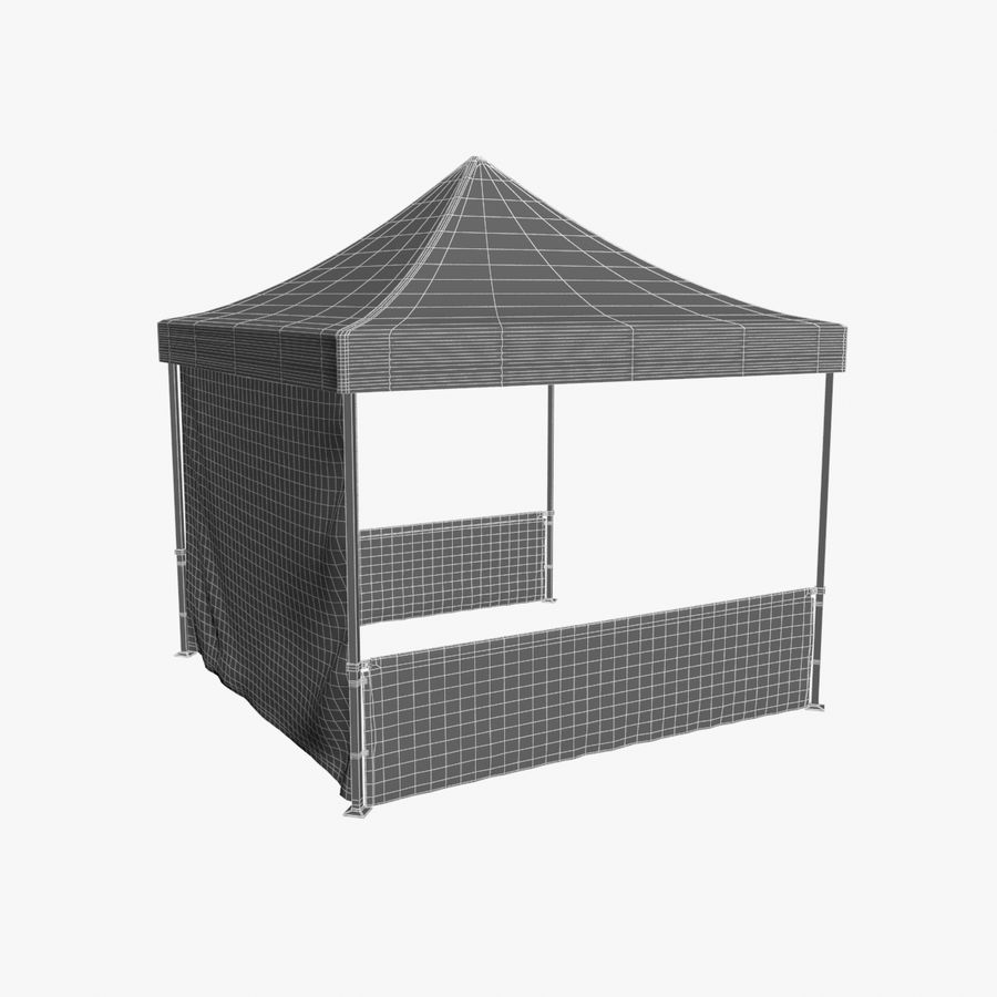 Коммерческое Событие Capony Tent royalty-free 3d model - Preview no. 13