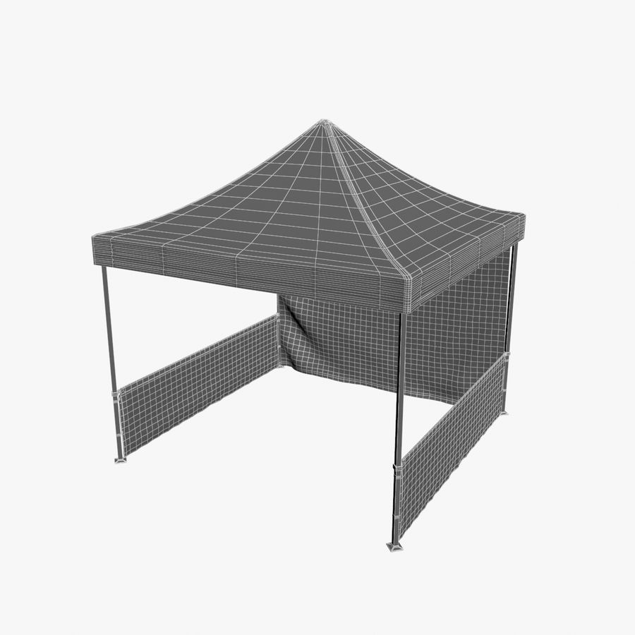 Commercial Capony Tent Event royalty-free 3d model - Preview no. 10