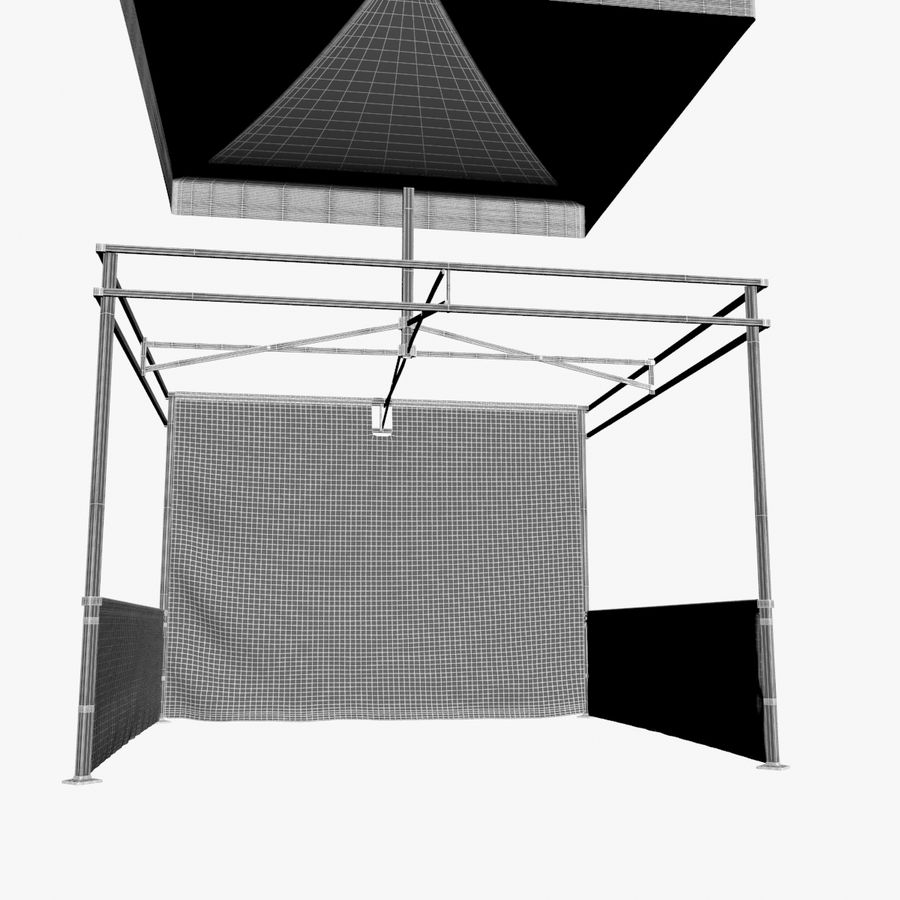 Commercial Capony Tent Event royalty-free 3d model - Preview no. 19