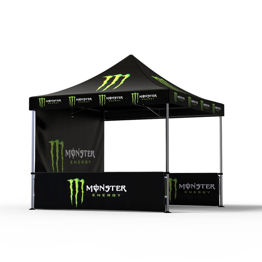 Commercial Capony Tent Event royalty-free 3d model - Preview no. 5
