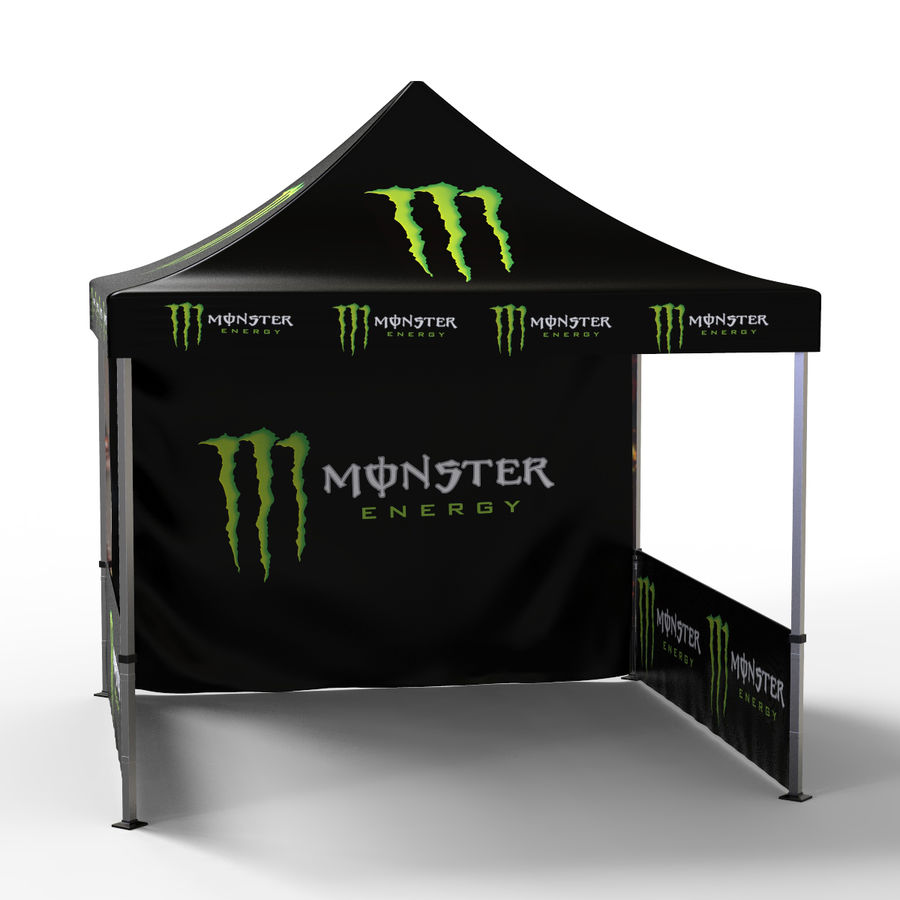 Commercial Capony Tent Event royalty-free 3d model - Preview no. 6
