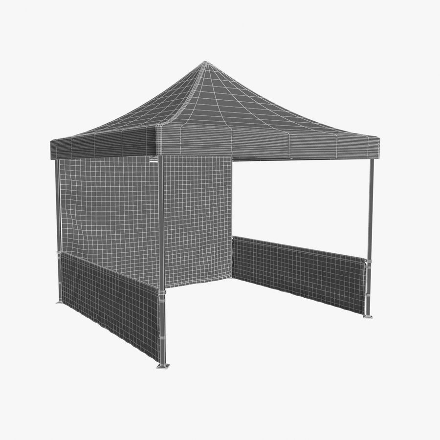 Коммерческое Событие Capony Tent royalty-free 3d model - Preview no. 14