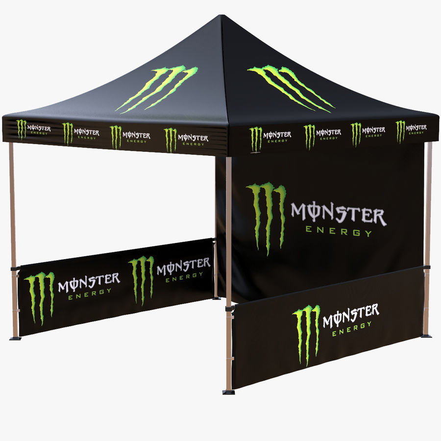 Commercial Capony Tent Event royalty-free 3d model - Preview no. 1