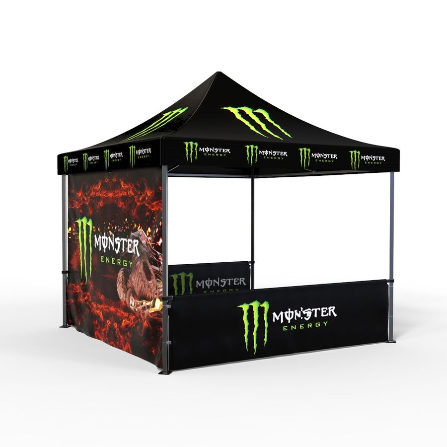 Commercial Capony Tent Event royalty-free 3d model - Preview no. 4