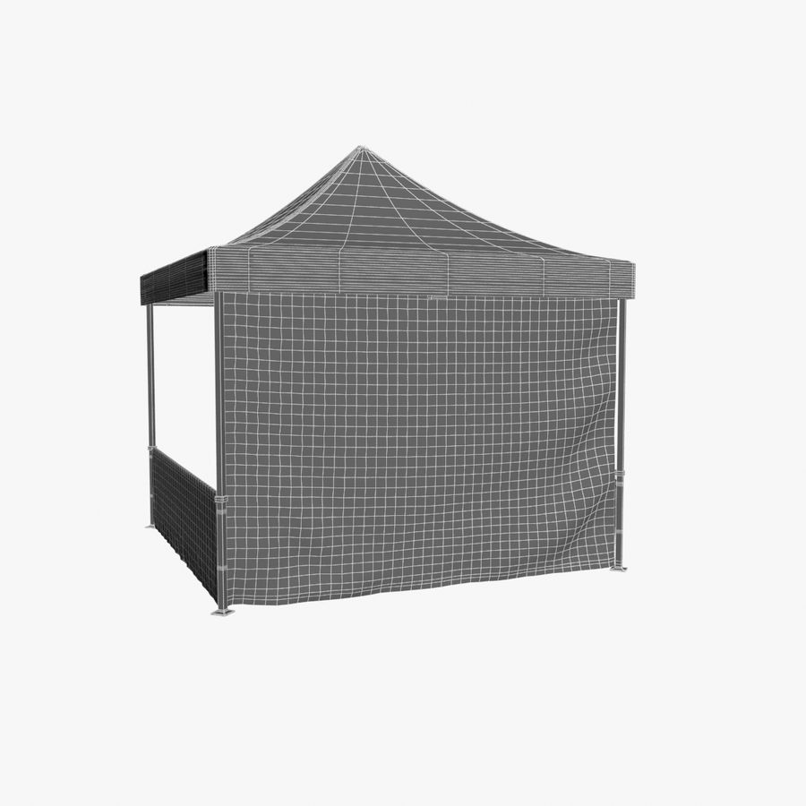 Коммерческое Событие Capony Tent royalty-free 3d model - Preview no. 12