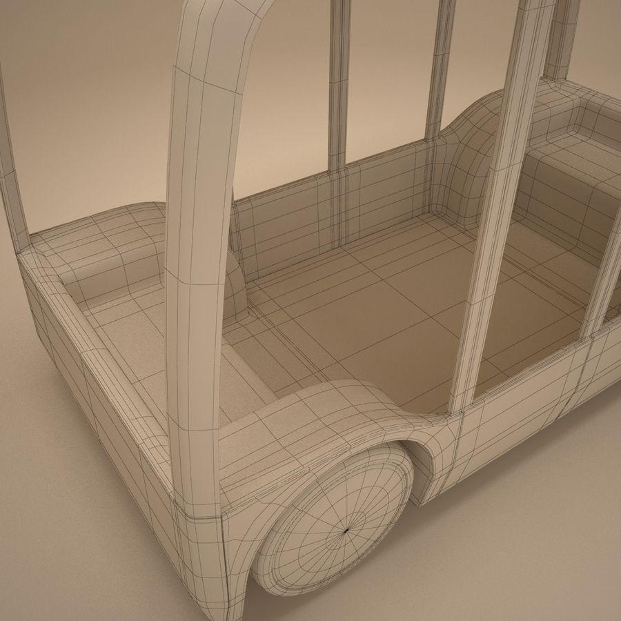 Концептуальный городской автобус royalty-free 3d model - Preview no. 12