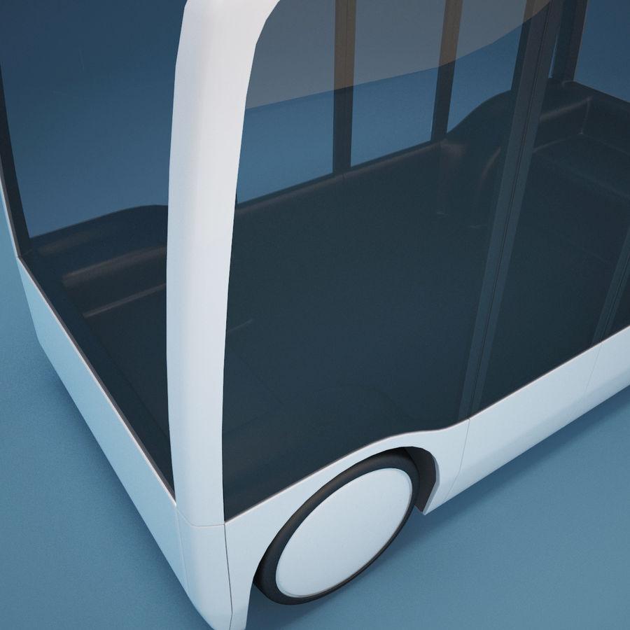 Концептуальный городской автобус royalty-free 3d model - Preview no. 5